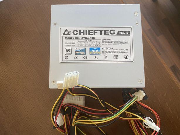 Продам блок питания CHIEFTEC CTB-450S 450W