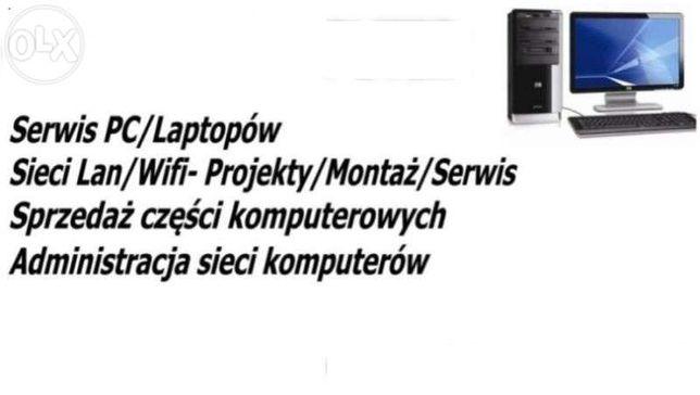 Naprawa komputerów laptopów Serwis komputerowy Pogotowie komputerowe