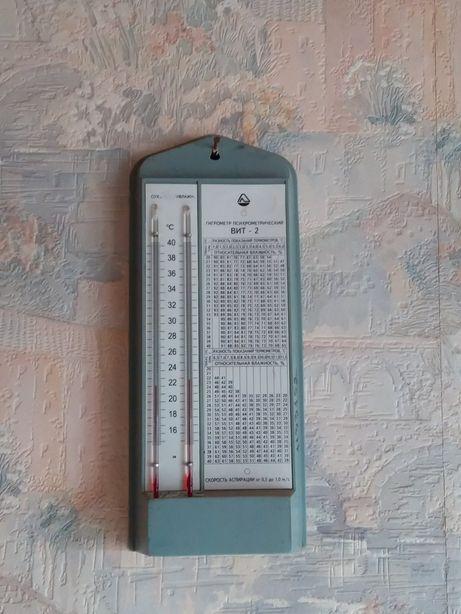 Термометр,барометр,электр термом,часы,приёмник