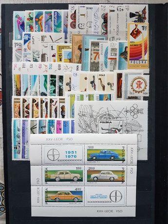 Znaczki pocztowe Rocznik1976czysty,pelny