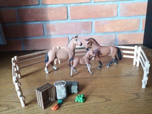 zestaw schliech 3 konie