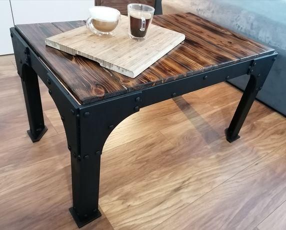 """stolik kawowy i nie tylko """"50x85"""" stół ława industrial loft oldwood"""