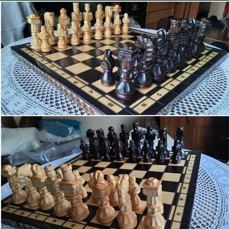 Шахматы деревянные гладиатор С-117
