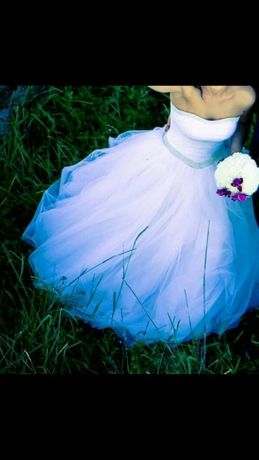 Suknia ślubna księżniczka r. 36-38