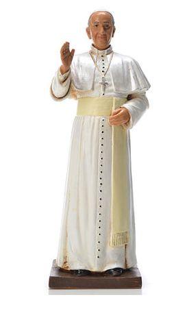 Estatuetas Papa Francisco 15cm