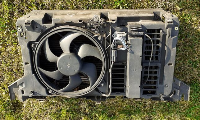 CITROEN C5 I 3.0 6V Komplet chłodnic+wentylator