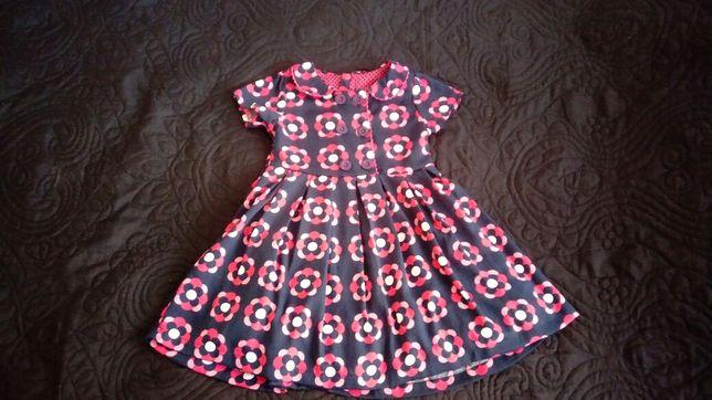 Śliczna sukienka 92 98