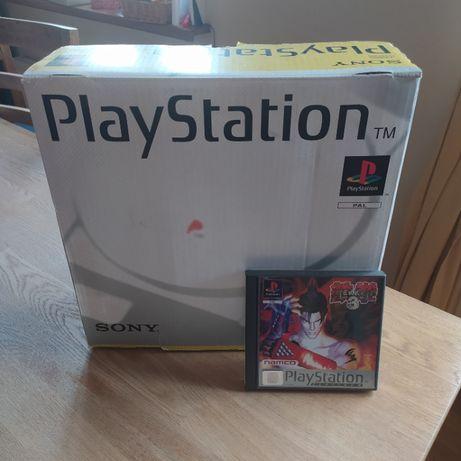 PlayStation 1 - PSX - Tekken3 - Pełen Zestaw STAN IDEALNY - Kontrolery