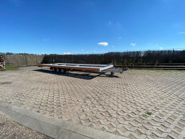 Przyczepa Fit-Zel Duo. 2 auta
