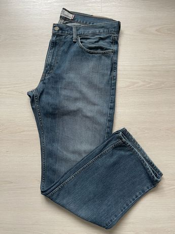 Spodnie jeansowe Levis 559 W36 L32 niebieskie relaxed straight