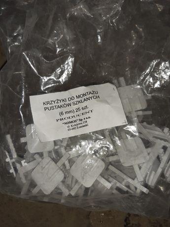 Krzyżyki do pustaków szklanych (luksferów)