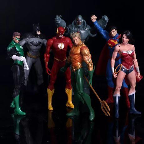фигуры супергерои Лига Справедливости все герои