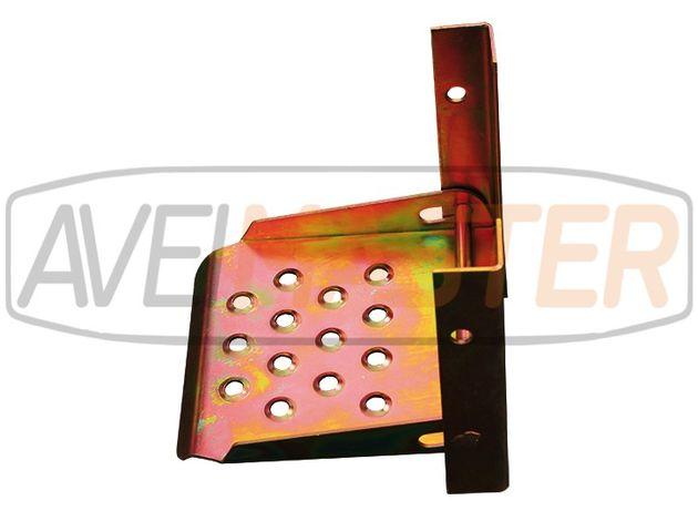 Suporte pé rebatível zincado - Ref. 715010
