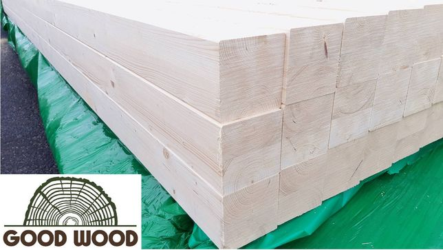 Drewno konstrukcyjne c24 klejone, kantówka 160x160 mm, słupy, belki