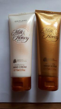 Milk&Honey Gold zestaw do rąk z Oriflame.