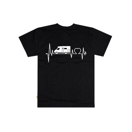 podkoszulek T-shirt Kamper Heartbeat