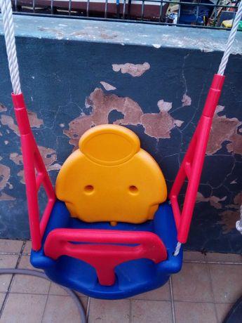 Baloiços para bebé muito pouco usados