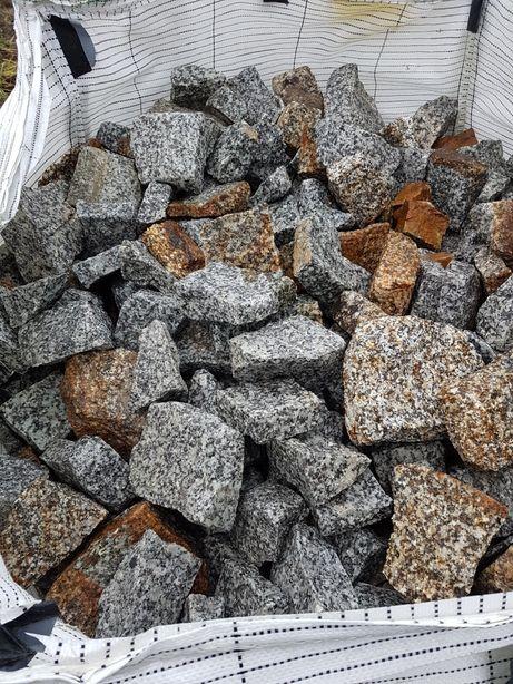 Kamień do GABIONÓW gabionowy DEKORACYJNY frakcja 35-65 Transport 1-24t