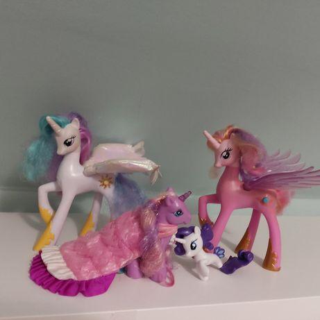Konie 4 sztuki My Little Pony