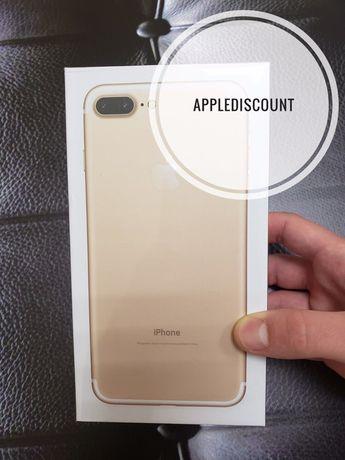 ••НОВІ iPhone 7 + PLUS 32 128 Black Gold Silver Rose Red 8 X XS XR 64