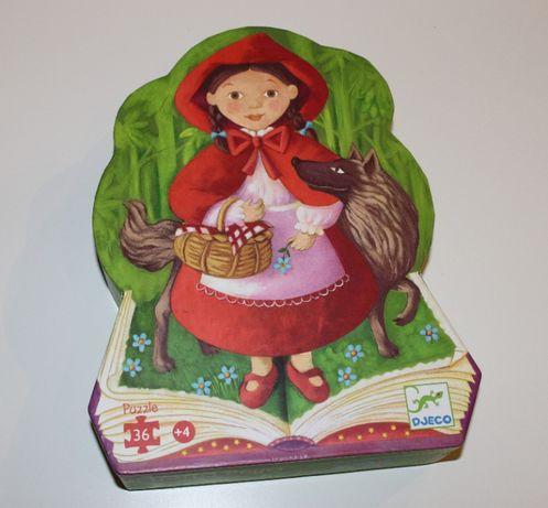 Puzzle Capuchinho Vermelho Djeco