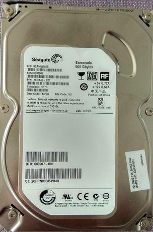 "Жесткий диск 500GB Seagate SATA III ST500DM002 HDD 3.5"" 7200rpm 16MB"