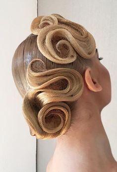 Сетка для волос тонкая для танцевальной прически