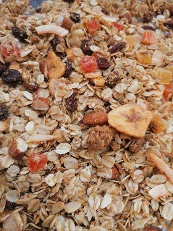 granola sem açúcar