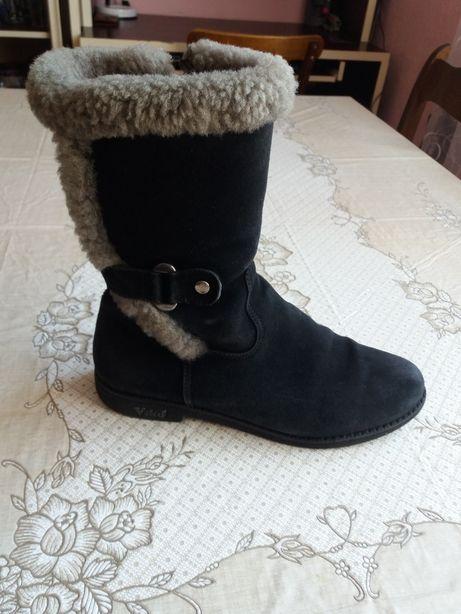 Чоботи, чобітки, сапожки для дівчинки підлітка 37р.