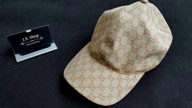 Czapka Gucci monogram