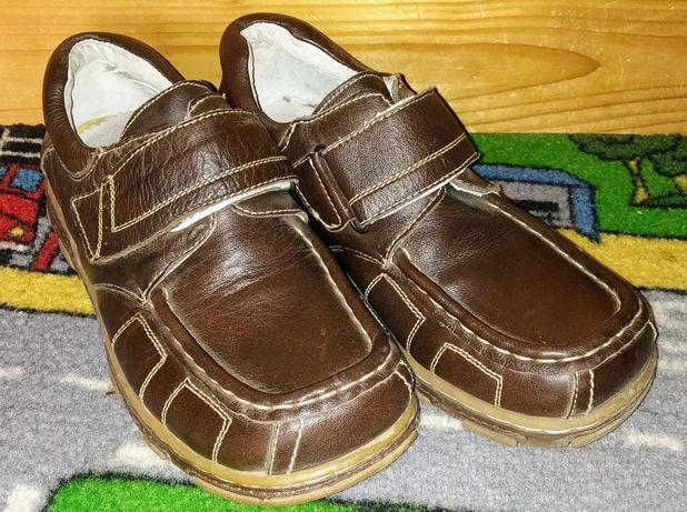 Туфли кожаные для подростка 37р