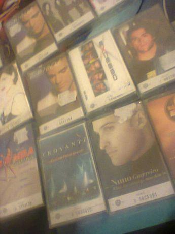 Lote de 21 cassetes de musica portuguesa se