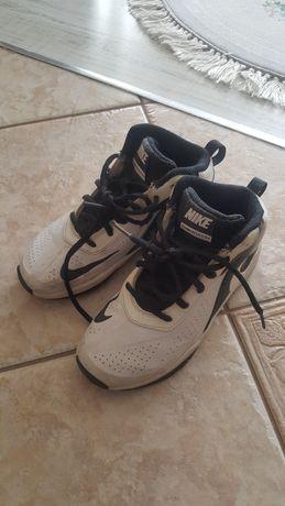 Nike za kostkę białe wysokie 32