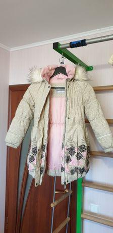 Зимняя куртка для девочки Lenne
