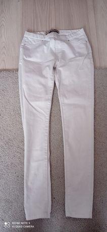 Białe rurki Denim Co