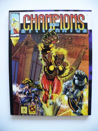 CHAMPIONS New Millenium Sourcebook Issue #3 vol 5 RPG 1997