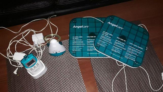 Angelcare monitor oddechu ( 2płytki ) z nianią elektryczną AC 401