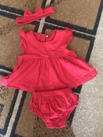 Платье туника на праздник / выписку / фотосессию