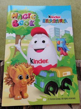 Kinder niespodzianka magic book