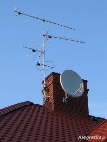 Montaż Ustawianie Serwis anten satelitarnych,dvbt,LTE.Bielsko,okolice
