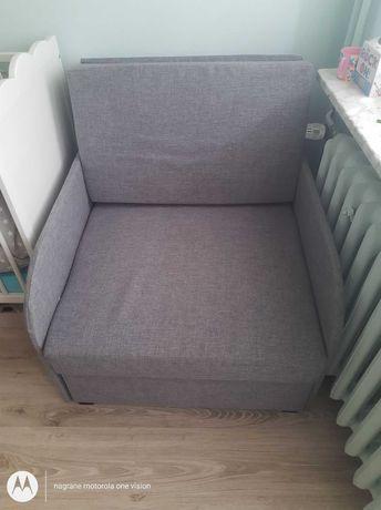 Łóżko jednoosobowe rozkładane