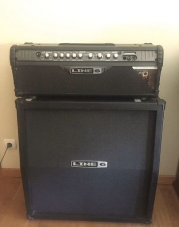 LINE 6 Spider IV HD150 Stereo Head + combo Line6 Spider 4x12
