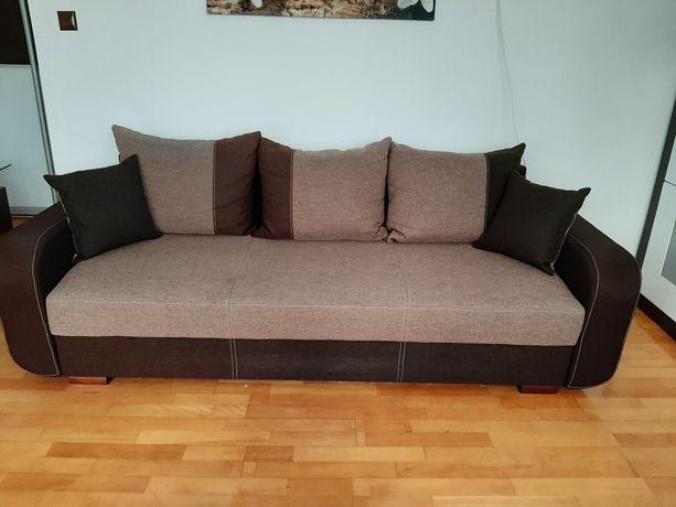 Komplet wypoczynkowy, sofa + 2 fotele