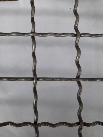 Продам линию по производству сложно-рифленной (канилированной) сетки