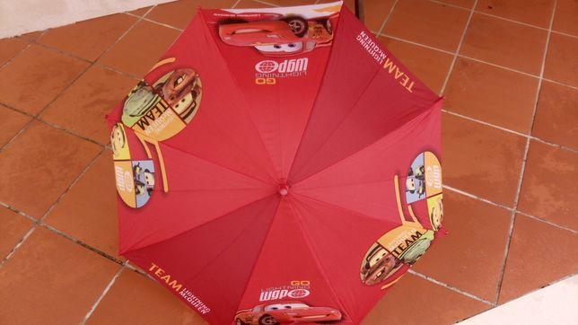 Chapéu chuva Faisca Mcqueen