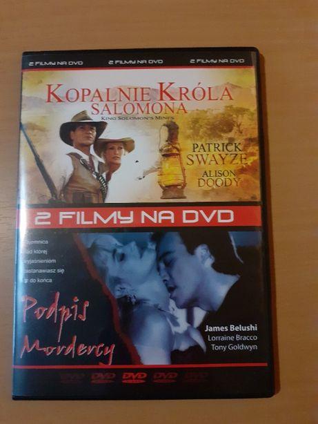 Kopalnie króla Salomona + Podpis mordercy Film DVD