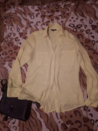 Блуза жовта салатова