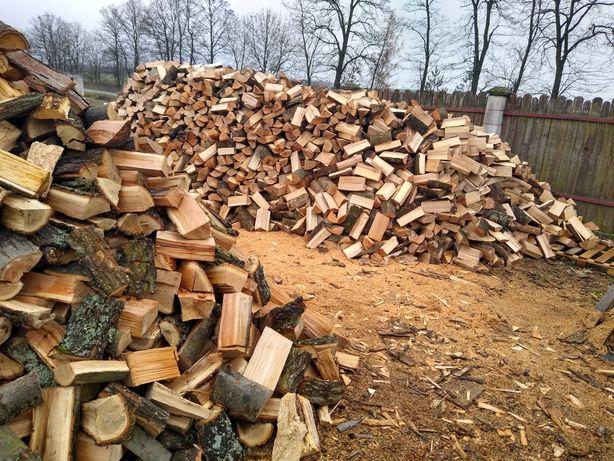 Drewno drzewo opałowe dąb brzoza sosna buk
