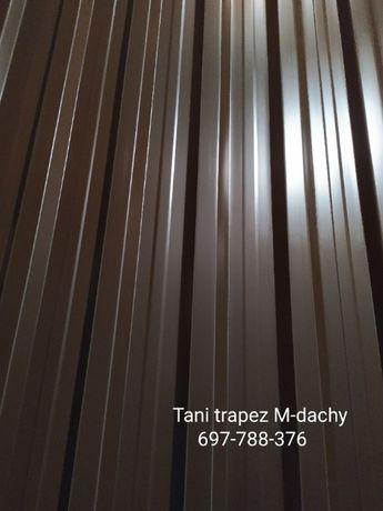 Blacha Trapezowa T-18 Ral 8017 brąz mat