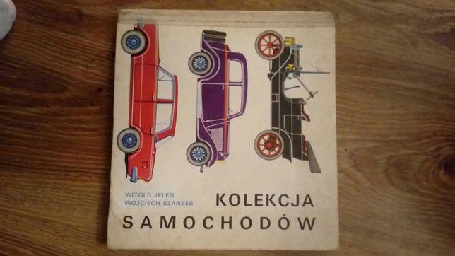 Kolekcja samochodow KSIAZKA PRL